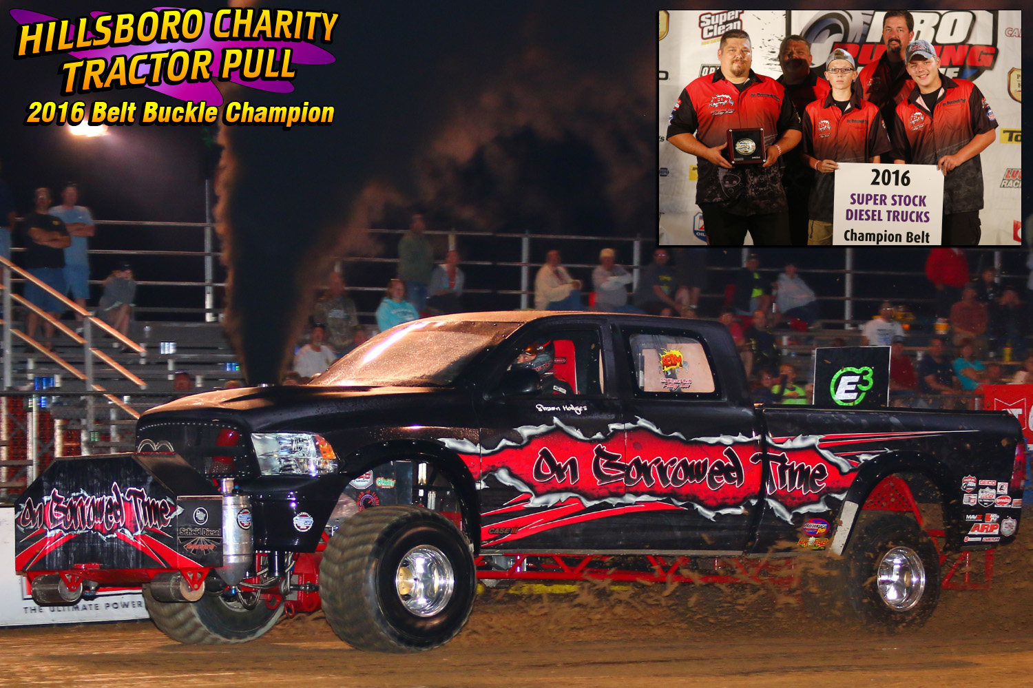 """Super Stock Diesel 4wd - Shawn Hodges """"On Borrowed Time"""""""