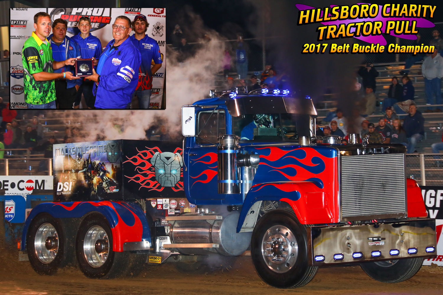 "Hot Rod Semi's-Dick Bonner ""Maximus Prime I"""