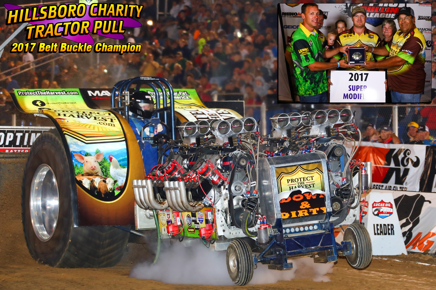 """Super Modifieds - Michael Stewart """"Protect the Harvest Down & Dirty"""""""